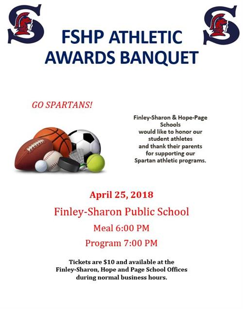 FSHP Spartans Athletic Awards Banquet
