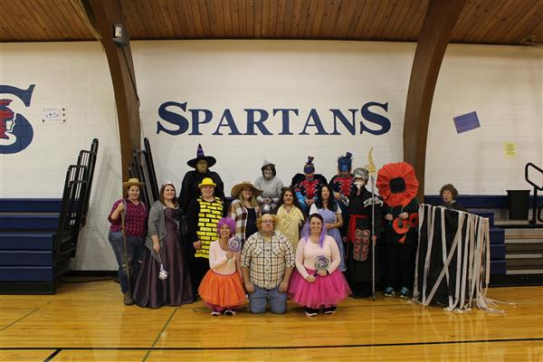 Hope-Page Schools had a great Halloween!!! Hope you did too!