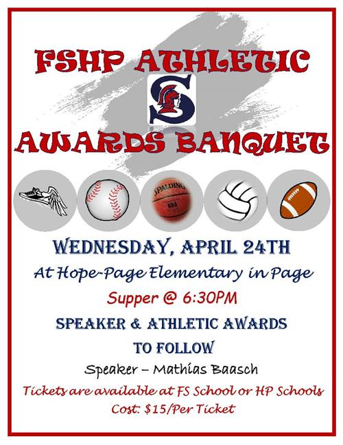 FSHP Athletic Awards Banquet
