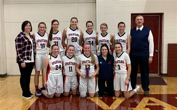 Great Job to the GBB team as they finished 4th at the Barnes County Tournament!