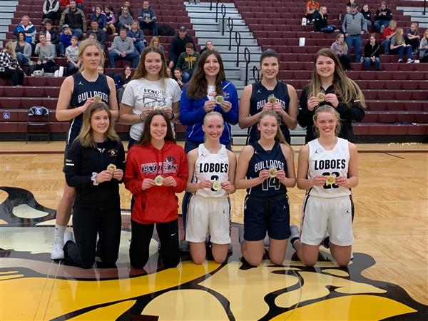 Congrats to Josie Flaten for being selected to the Barnes County All Tournament Team
