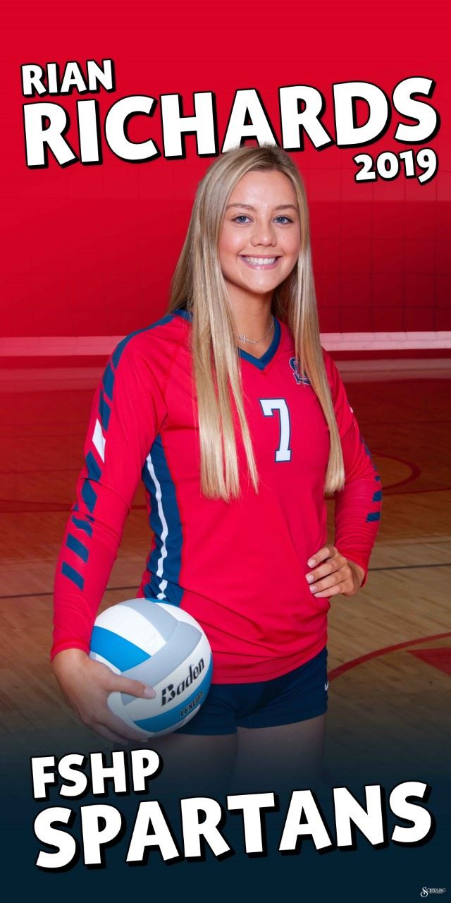 Spartan Shout out to Rian Richards for being selected Region 2 Volleyball All Region player! Congrats Rian!