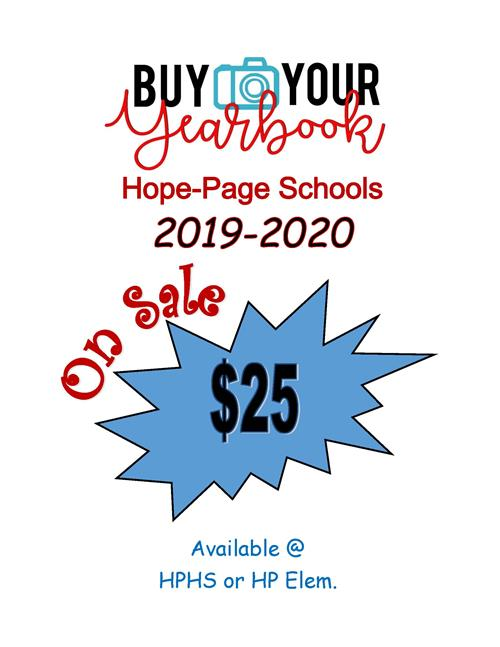 2019-2020 Yearbooks for Sale ~ $25