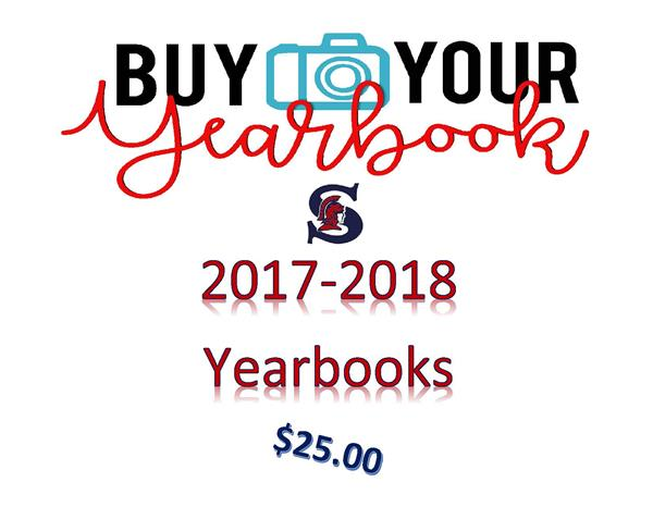 2017-2018 Yearbooks are IN!!!!